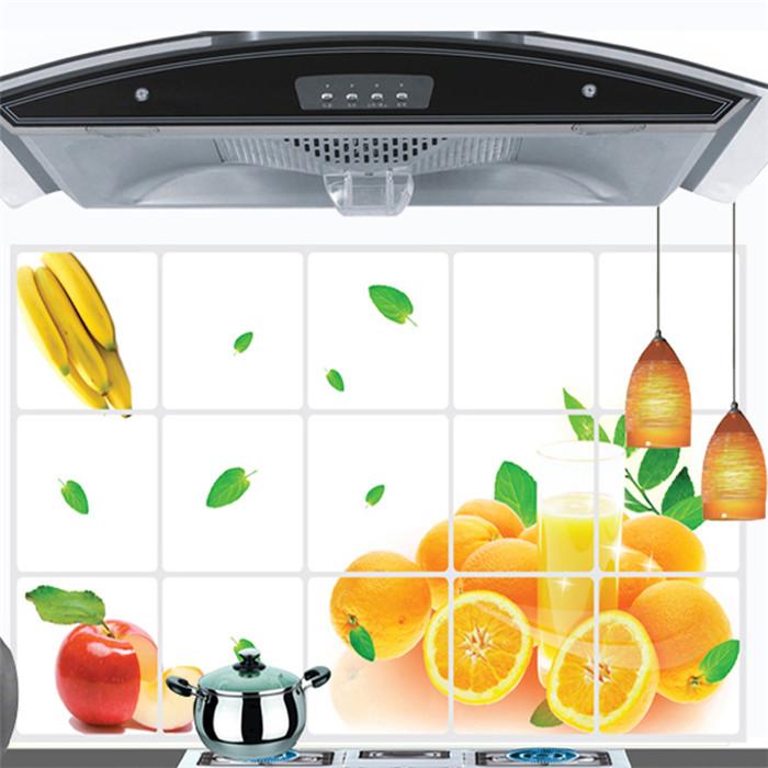 Acquista all 39 ingrosso online arancione bagno decor da - Vinilos para cocina baratos ...