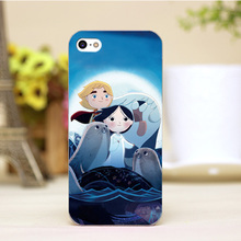 pz0004-24-2 For Song of Sea Cartoon Design Customized cellphone transparent cover cases for iphone 4 5 5c 5s 6 6plus Hard Shell