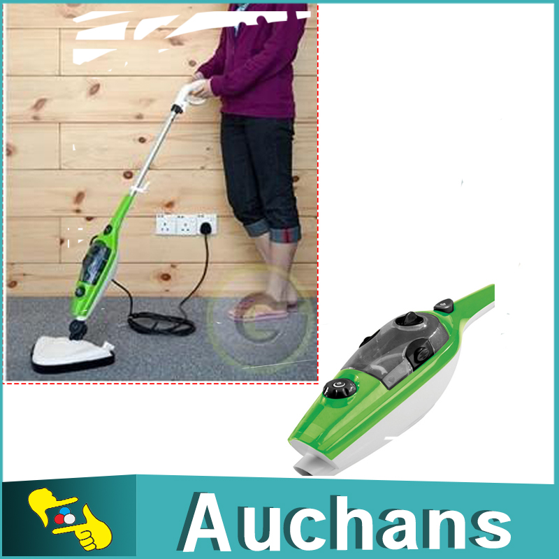 Family 10 in 1 Steam Mop Steamer Cleaner Floor Carpet Vapor Sweeper Express Ship(China (Mainland))