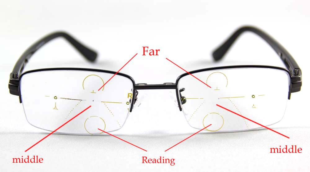 Glasses Frames Progressive Lens : Aliexpress.com : Buy 1.56 Inside Progressive Lenses ...