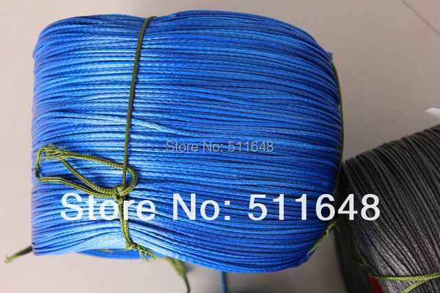 Free shipping 500m 950lb 2.1mm 16 strand UHMWPE Fiber braided kite line drop shipping