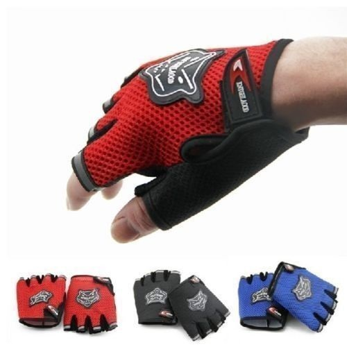 Free Shipping Men & Women Sports Gym Glove for Fitness Training Exercise Body Building Workout Weight Lifting Gloves Half Finger(China (Mainland))