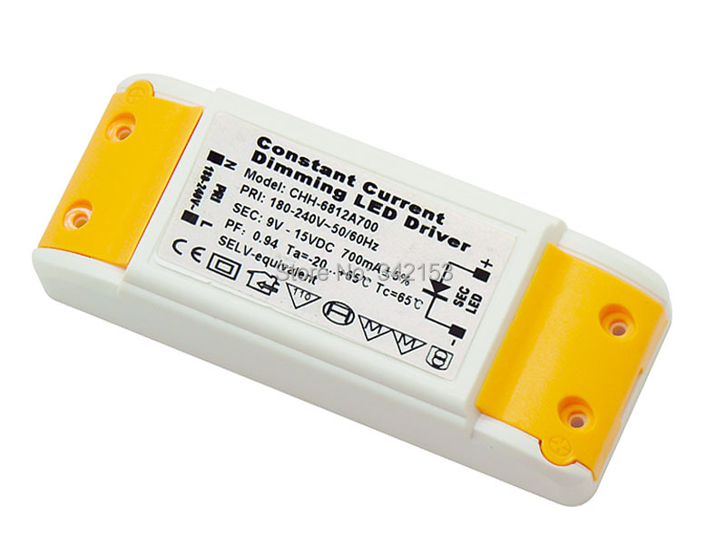 9-15V High Power Dimmable LED Driver Constant Current Dimming LED Driver Conducteur Mene Motorista Levou Driver(China (Mainland))