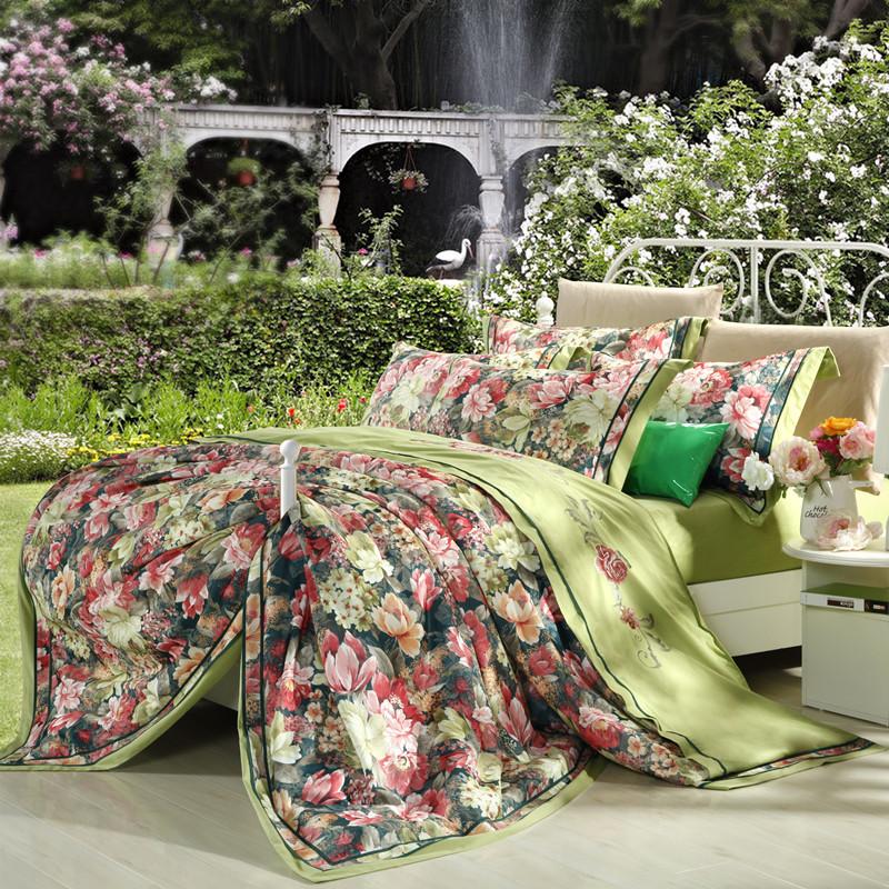 online kaufen gro handel gr ne bettw sche aus china gr ne. Black Bedroom Furniture Sets. Home Design Ideas