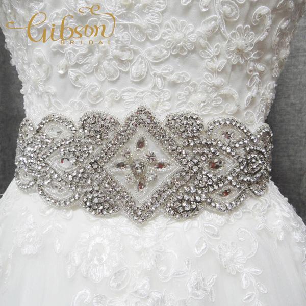 Free Shipping Rhinestone Belt For Wedding Dress Beaded Bridal SashОдежда и ак�е��уары<br><br><br>Aliexpress