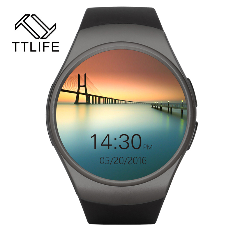 TTLIFE 2016 Best Smart Watch Heart Rate Monitor Bluetooth 4.0 Smartwatch MTK2502C Siri & Gesture Control iOS Andriod mobile