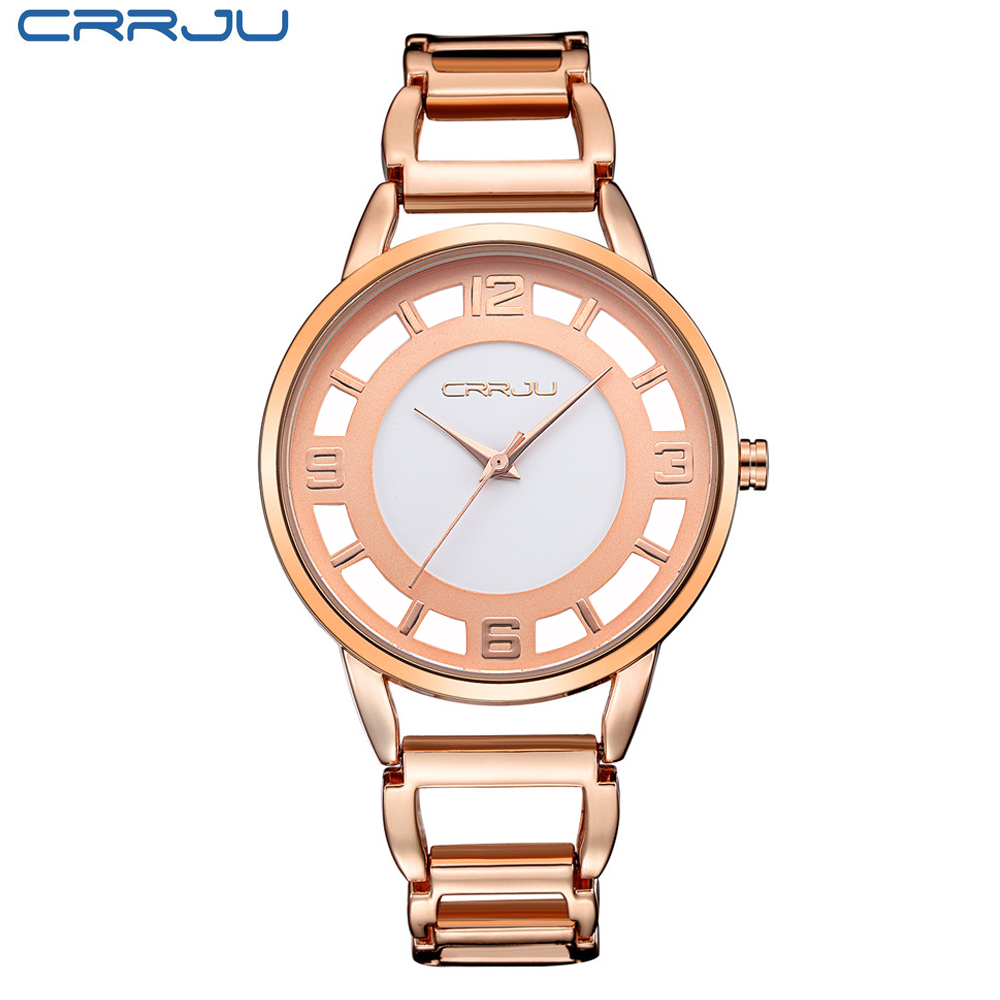 Brand Luxury Rose Gold watch Full stainless steel woman Fashion OL Lady Commercial Watches Fashion Dress Watch Relogio Feminino(China (Mainland))