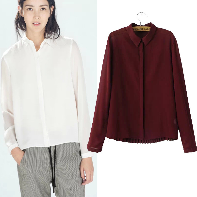 Burgundy Blouse Womens Photo Album - Reikian