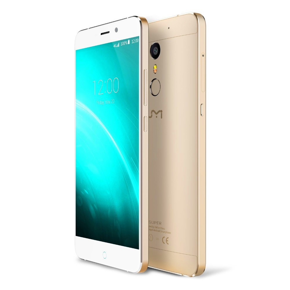 UMI Super Mobile Phone 4G LTE 5.5 inch 1920×1080 FHD IPS MTK6755 Octa Core Android 6.0 Smartphone 4GB 32GB 13MP Cam CellPhone