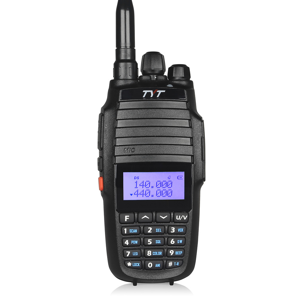TYT TH-UV8000D Upgrade Dual Band Handheld 136-174/400-520MHz Tri Power 10W FM THUV8000D 3600mA Transceiver Radio Walkie Talkie(China (Mainland))