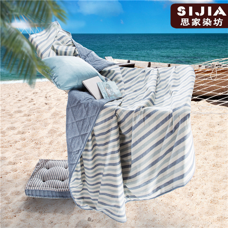 2016 hot sale summer quilts wosingmyeon 100% cotton air conditioning quilts high quality linen cloth comforter Free shipping(China (Mainland))