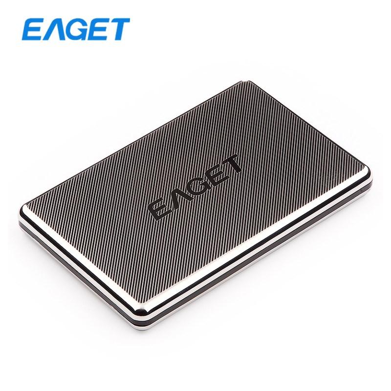 Original EAGET G50 External Hard Drives 500GB HDD 2.5 Hard Disk Stainless Steel Ultra-thin USB 3.0 High-Speed 500GB Hard Drive(China (Mainland))