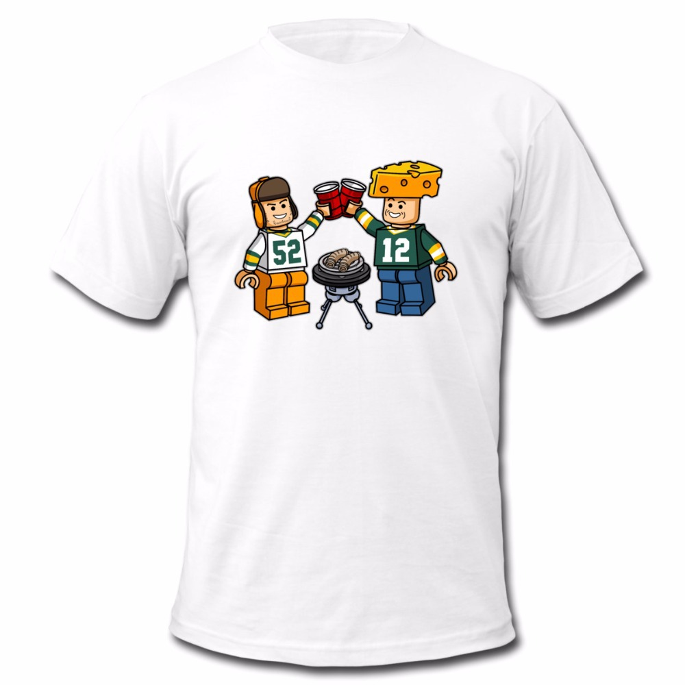 It's Rodgers&Matthews GameTime New Summer Men's Sport Fans T-Shirt Free Shipping(China (Mainland))
