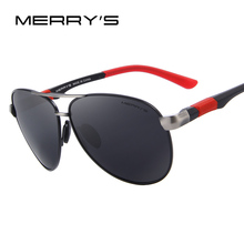 MERRY'S Men Classic Brand Sunglasses HD Polarized Glasses Men's Sport Polarized Sunglasses S'8404