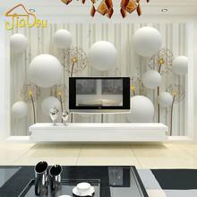 Custom Mural Wallpaper 3D Stereo European Living Room Sofa Backdrop Wall Paper Modern Minimalist Bedroom Self-adhesive Wallpaper(China (Mainland))