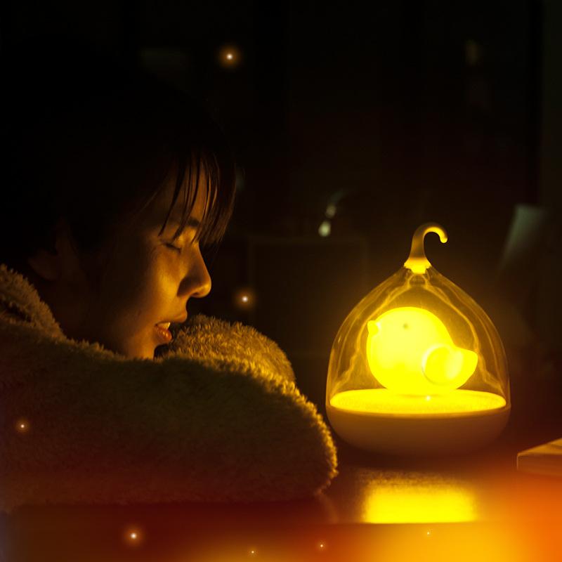 creative cage lights usb charging small night light led night light. Black Bedroom Furniture Sets. Home Design Ideas