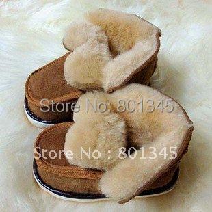 2pari/lot,Free shipping,children Cotton boots/children snow boots,baby Warm shoes,skins shoes,anti-slip,brown,gray brack color
