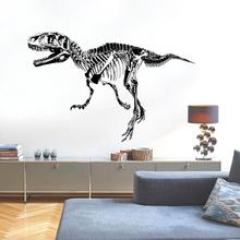 The New Wall Stickers Dinosaur Silhouette Creative Personality Bedroom Entrance Study Animal Decorative Stickers Pvc(China (Mainland))