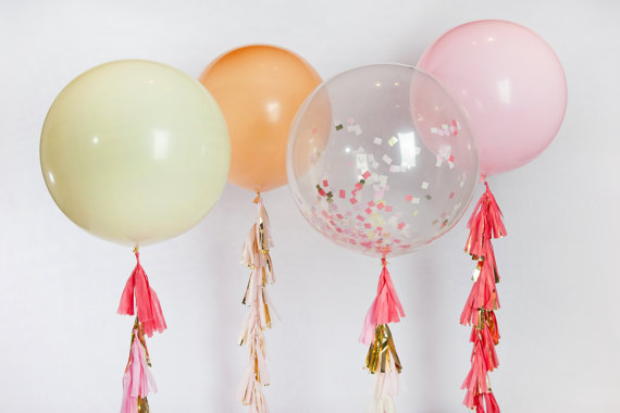 Birthday wedding engagement party decoration 36inch clear for Balloon decoration for engagement party