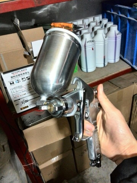 JETYOUNG [FREE Shipping]-K/S chemical Spraygun-Stainless Steel for Chrome Spray Plating-Candy Paint-Car Paint-[JETYOUNG]