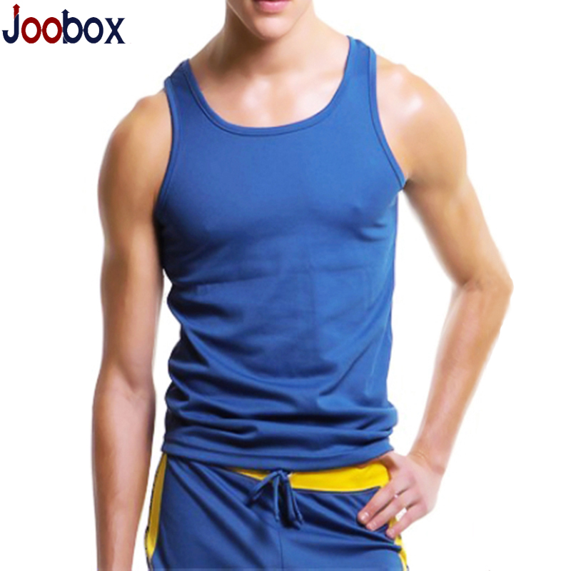 JOOBOX men tank top2016 New cheap quick dry bodybuilding tank tops Brand Sleeveless Undershirts Casual Summer men Vest (N-212D)(China (Mainland))