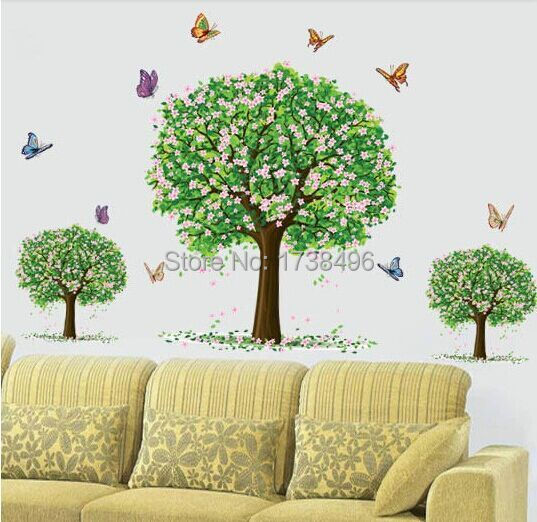 3d pvc stickers removable paper home decoration wall stickers home decals vin - Stickers et decoration ...