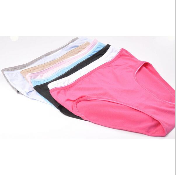 New Large Size Pure cotton Underwears Women Panties Women s Butt Lifter Sports Briefs underwear free