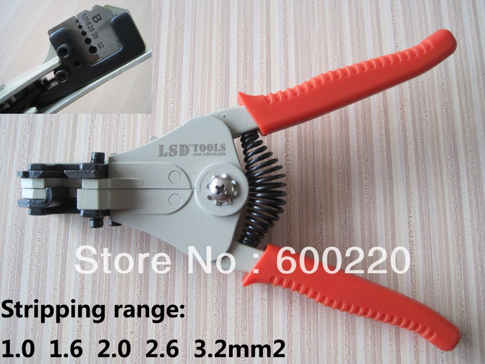 Automatic wire Strippers,stripping cable range 1.0-3.2mm2 LS-700B(China (Mainland))