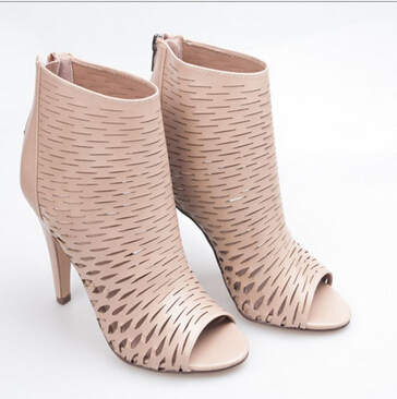 Women Sandals Gladiator Boots High Heels Shoes Summer Style Sexy Peep Toe Jelly Sandal Ladies Heels Ankle Wrap Sandals 2015(China (Mainland))