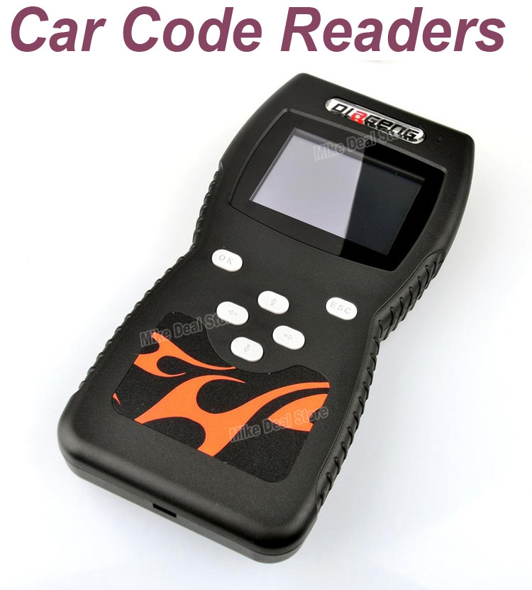 Hot sale Car Key Programmer Diagnostic Tool Auto Code Scanner Code Reader OBDII/EOBD Reader ZQC36 Free Shipping(China (Mainland))
