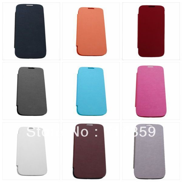 1pc Cheap Fashion 9 Colorful Styles Super Thin Phone Case Cover For Sumsung S4i9500  730079