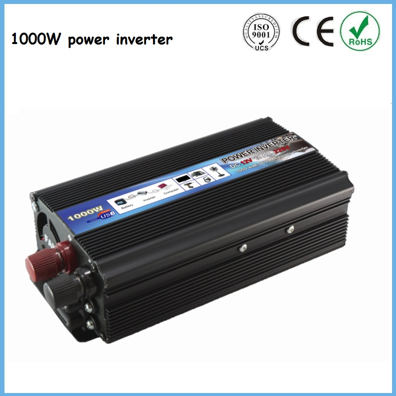 1000w Sine Wave Inverter 1 6kw Dc To Ac With Ac Charger