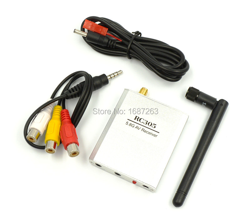 5.8G Wireless FPV RX Receiver 5.8GHZ 8CH Video Receiver RC305 FPV TX Transmitter 20746(China (Mainland))
