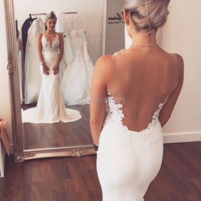 Жилетido де Noiva 2016 с свадебные платья само оболочка русалка свадебные платья ...