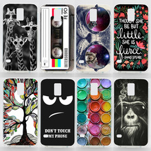 Case For Samsung Galaxy S5Mini G800 Colorful Printing Drawing Phone Cover for Samsung S5 Mini New Plastic Hard Phone Cases