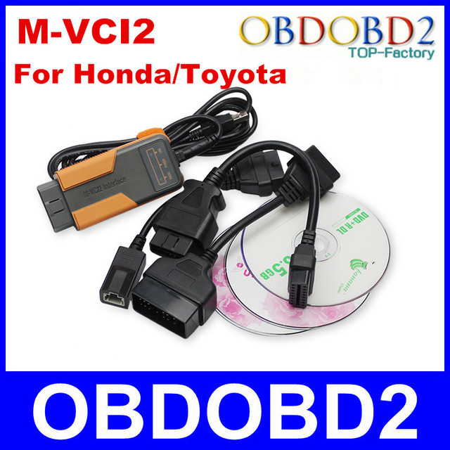 M-VCI2 Inteface V8.00.034 For Tis/HDS/For Volvo Dice,Lexus OBDII Reprogramming Tool Super MVCI Scanner