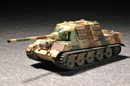 TRUMPETER 07293 1/72 German Sd.Kfz 186 Jagdtiger w Zimmerit Assembly Model kits scale model 3D puzzle vehicle model(China (Mainland))