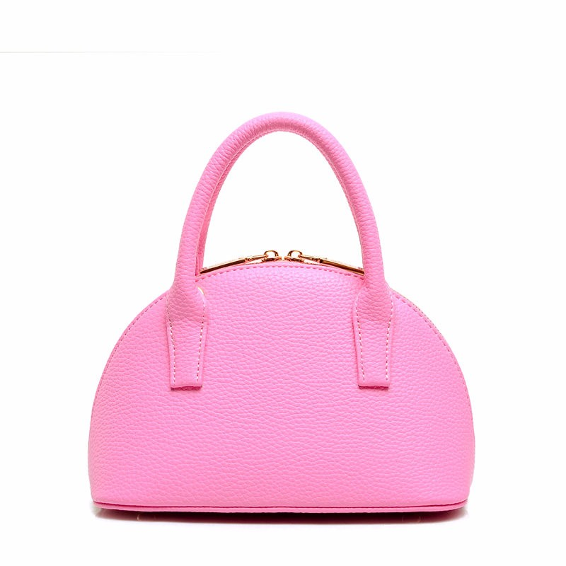 Small Handbag Japan And Korean Style Trendy Mini Shell Bag Women Sweet Cute Shoulder Bag Ladies Designer PU Mini Crossbody Bag