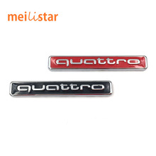 Buy 2017 Auto car metal QUATTRO sticker emblem Audi A3 A4 A5 A6 Q3 Q5 Q7 B7 B8 R8 TT Emblem Badge Sticker car styling for $1.08 in AliExpress store
