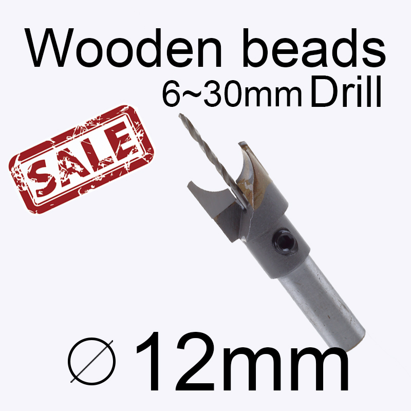 12mm 0.472in wood bead drill bit with 2mm hole Bead cutters Beads drill Wood Drilling Buy 3 more favorable(China (Mainland))