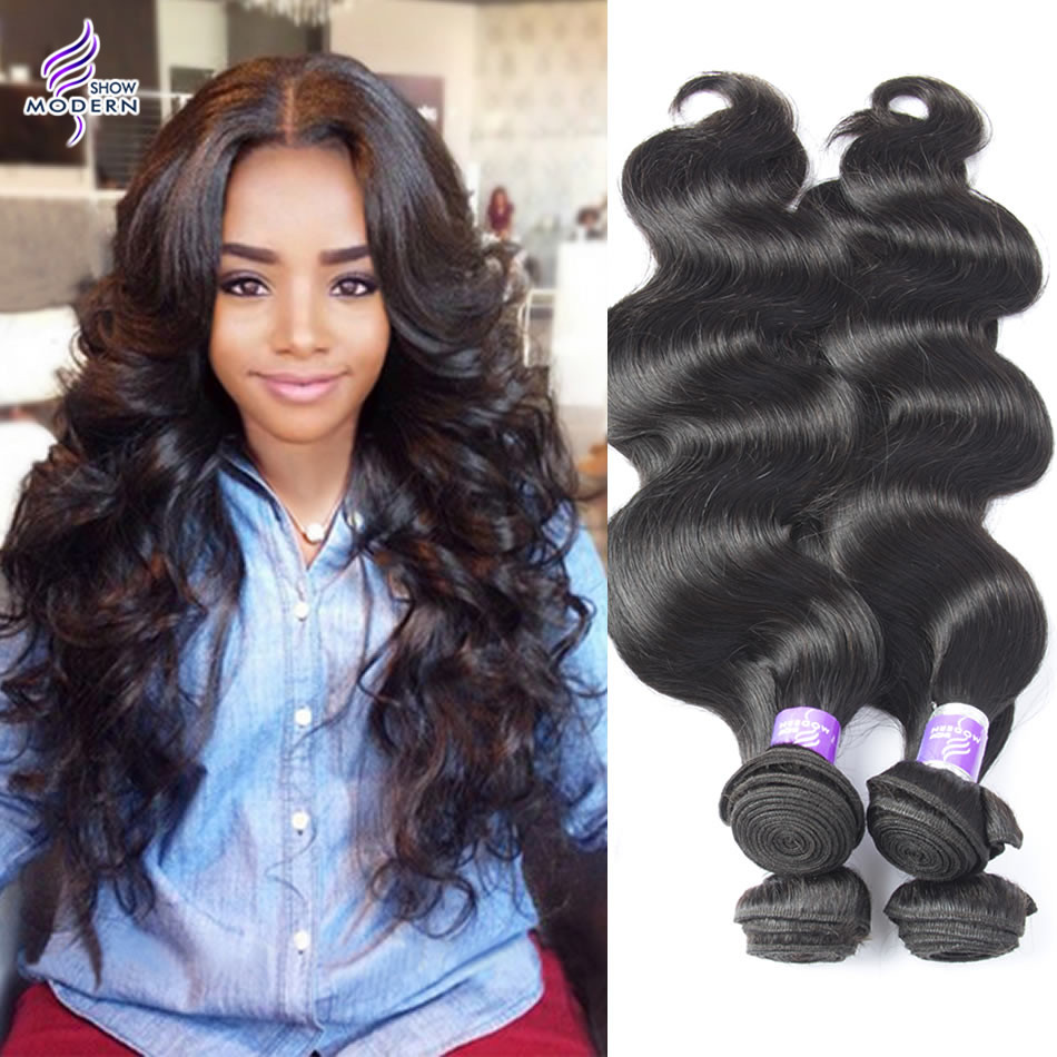 Brazilian Virgin Hair Body Wave 3pcs lot 100% Human Hair Weaves Natural Color Brazilian Body Wave Rosa Hair Products  <br><br>Aliexpress