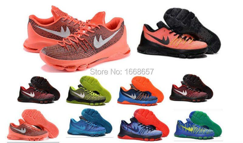 2015 cheap top quality Free shipping kevin 8 viii basketball shoes thunder KD8 KD 8 sneakers athletic shoes footwear 40-46(China (Mainland))