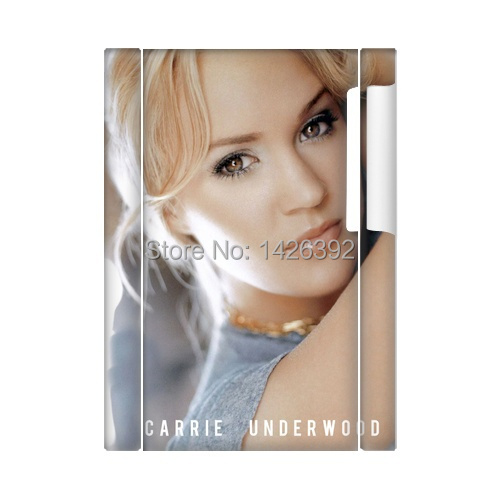 Beautiful Singer Carrie Underwood DIY PC shell cover Case for Apple iPod Nano 7 screen protector(China (Mainland))