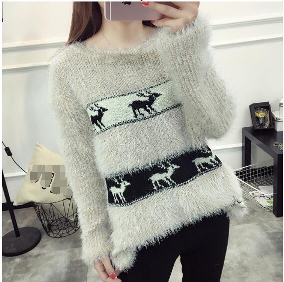Popular Reindeer Sweater Pattern-Buy Cheap Reindeer Sweater Pattern lots from...