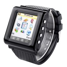 New GSM AK812 Unlocked smart watch mobile phone 1.44″ Touch Screen support SIM TF FM radio MP3 bluetooth Mobile Watch telephone