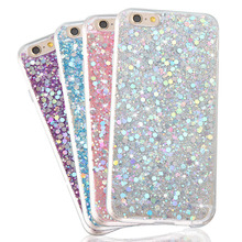 Buy Fashion Glitter case Soft TPU Silicone phone case iphone 6 6s 6plus 7 7plus Diamond bling case back cover iphone 7 7plus for $2.79 in AliExpress store