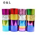 1roll 4cm 120m Fashion Nail Art Transfer Foil Sticker Paper Star Shiny Design DIY Manicure Nail