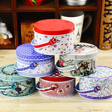 Free shipping Small Handbag Storage Jewelry Decorative Tin Box With Lids Candy Earphone Ring Christmas Gifts Boxes(China (Mainland))