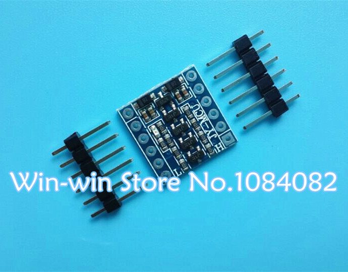 Интегральная микросхема VK 5pcs/5v/3v UART SPI Arduino Four Channel Level Converter Module absolutely nasty kakuro level four