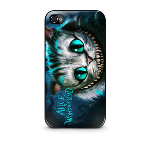 Alice-In-Wonderland-Cats-Smile-cell-phone-bags-case-cover-for-Iphone ...
